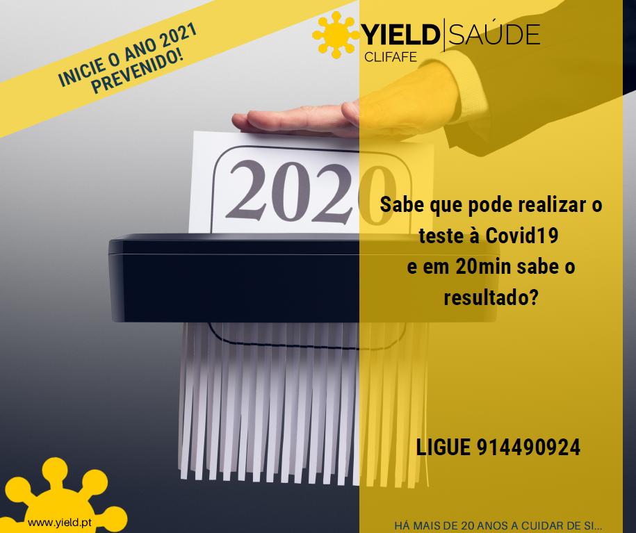 INICIE O ANO 2021 PREVENIDO!