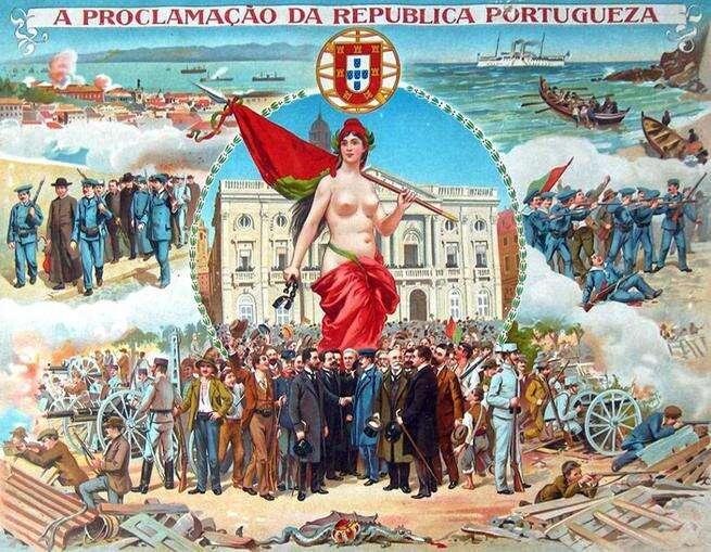 dia 5 de outubro comemora a Implantação da República